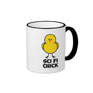 Sci Fi Chick Mugs