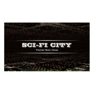Sci-fi City Business Card Template