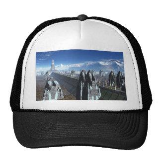 Sci-fi City Mesh Hat