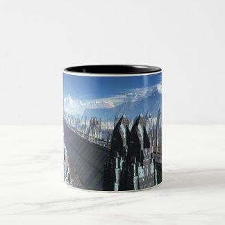 Sci-fi City Coffee Mug