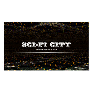 Sci-fi City Pack Of Standard Business Cards