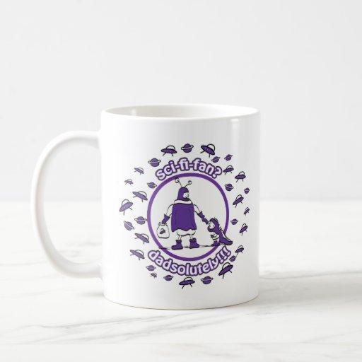 Sci-Fi-Fan Dad Mug