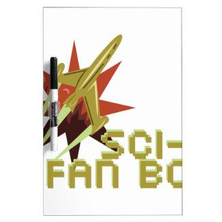 Sci-Fi Fan Dry-Erase Whiteboard