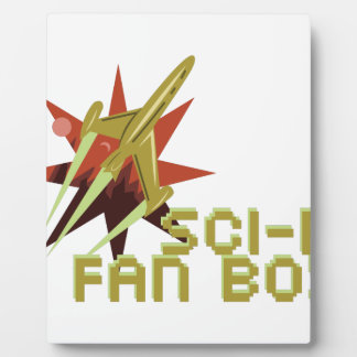 Sci-Fi Fan Plaque