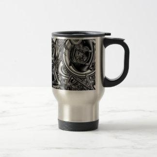 Sci fi fractal art 15 oz stainless steel travel mug
