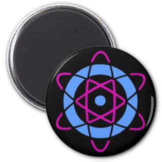 Sci Fi Geek Atom Symbol Magnet