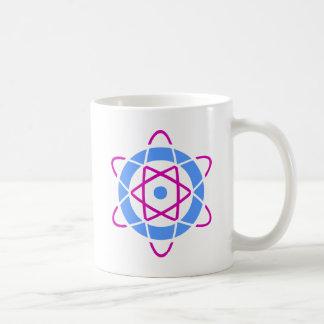 Sci Fi Geek Atom Symbol Basic White Mug