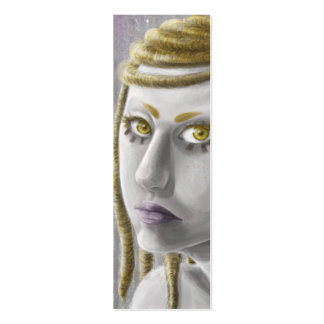 Sci-fi Girl Bookmark Pack Of Skinny Business Cards
