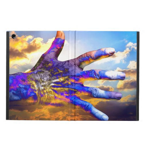 Sci-Fi Hand in the Sky iPad Air Covers