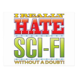 Sci-Fi Hate Postcards
