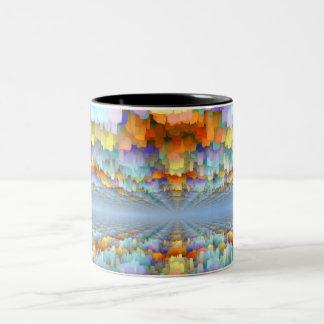 Sci Fi Horizons Two-Tone Coffee Mug