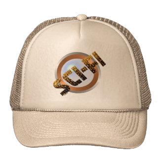 Sci-Fi In Gold Trucker Hat