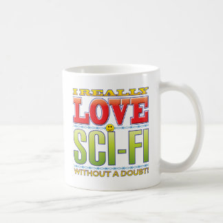 Sci-Fi Love Face Mugs