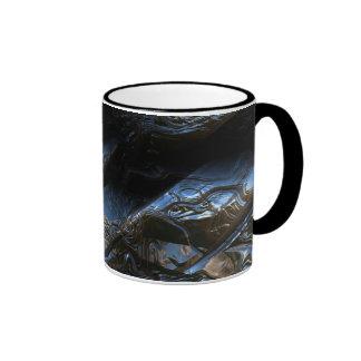 Sci-Fi Metal Art 2-1 Ringer Coffee Mug