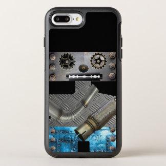 Sci Fi Metal Robot Iphone Case