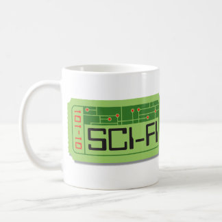 Sci-Fi Movie Ticket Mug