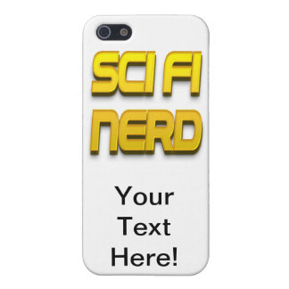 Sci-Fi Nerd Gold Cover For iPhone 5/5S