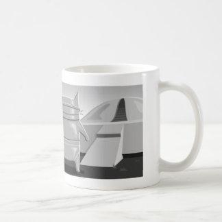 Sci-Fi Robot Kitty Mug
