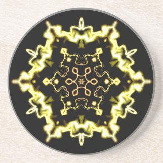 Sci-Fi royal abstract art Drink Coaster