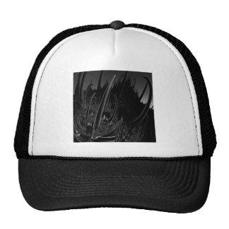 Sci-Fi Steel Fractal Hats