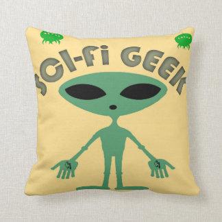 Sci-Fi Throw Pillow