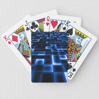 Sci Fi UFO Landing Pad Bicycle Playing Cards
