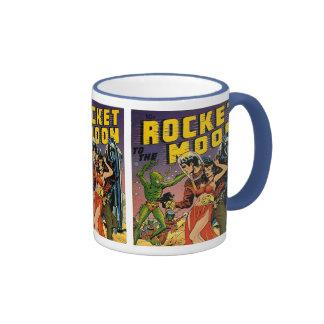 Sci Fi Vintage Comic Book Cover Art Mugs