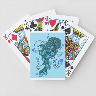 SCI - Jellyfish -String Cheese Incident - Tequilla Bicycle Playing Cards