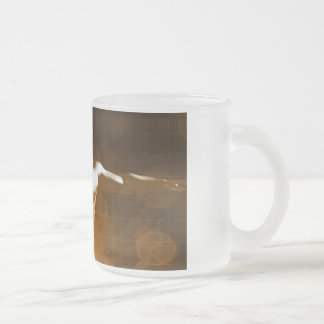 Science Abstract as a Concept Background Art Frosted Glass Coffee Mug