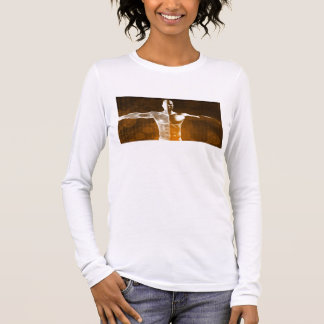 Science Abstract as a Concept Background Art Long Sleeve T-Shirt