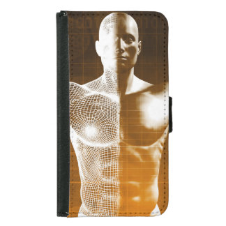 Science Abstract as a Concept Background Art Samsung Galaxy S5 Wallet Case