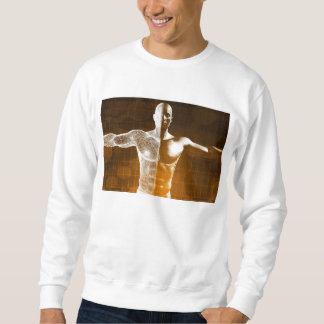 Science Abstract as a Concept Background Art Sweatshirt