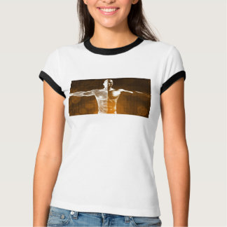 Science Abstract as a Concept Background Art T-Shirt