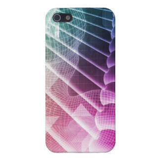 Science Abstract Presentation Background iPhone 5 Covers