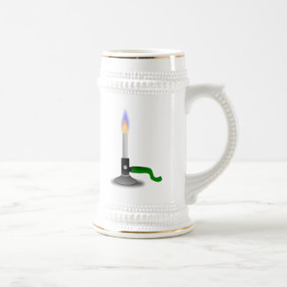 Science and Chemistry Bunsen Burner Beer Steins