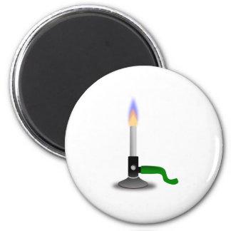 Science and Chemistry Bunsen Burner Fridge Magnets