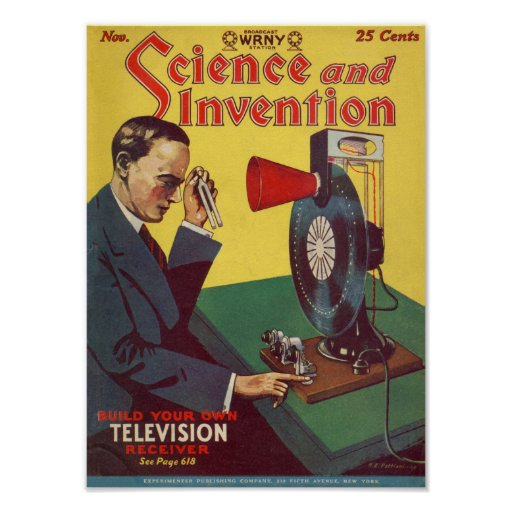 Science And Invention Posters