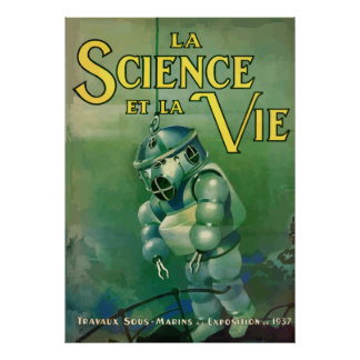 Science and the Life (France - 1937) Poster
