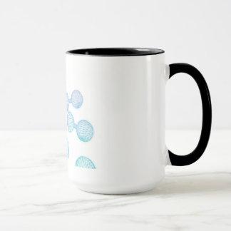 Science Atom and Chemical Formula as Concept Mug
