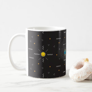 Science behind Northern Lights Cute Mug
