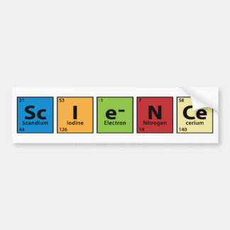 Science Bumper Sticker
