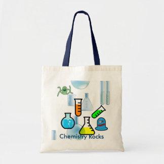 Science Canvas tote bag