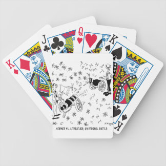 Science Cartoon 7146 Bicycle Playing Cards