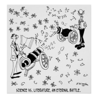 Science Cartoon 7146 Poster