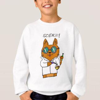 Science! Cat Cute Adorable Cartoon Sweatshirt