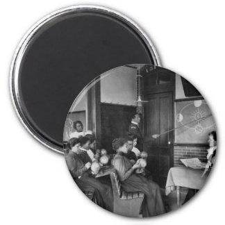 Science Class 1899 Refrigerator Magnet