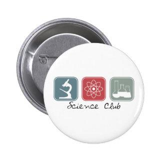 Science Club (Squares) 6 Cm Round Badge