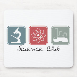 Science Club (Squares) Mouse Pad