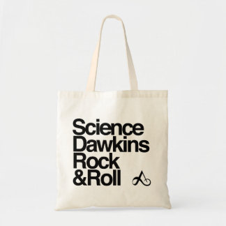 Science Dawkins rock and roll Tote Bag