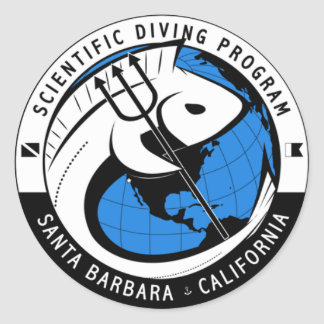 Science Diving Sticker